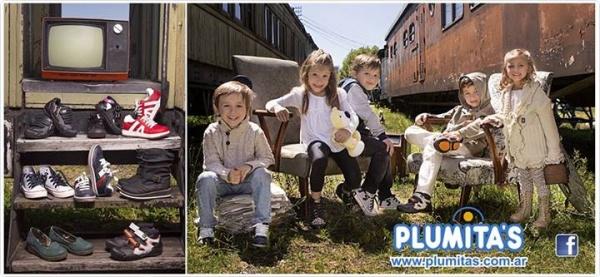 Calzado infantil invierno 2014 Plumitas