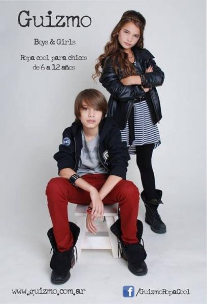 Gizmo ropa para chicos invierno 2014