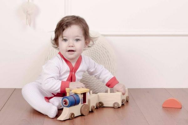 Moda infantil enterito a lunares Naranjo Basicos invierno 2014