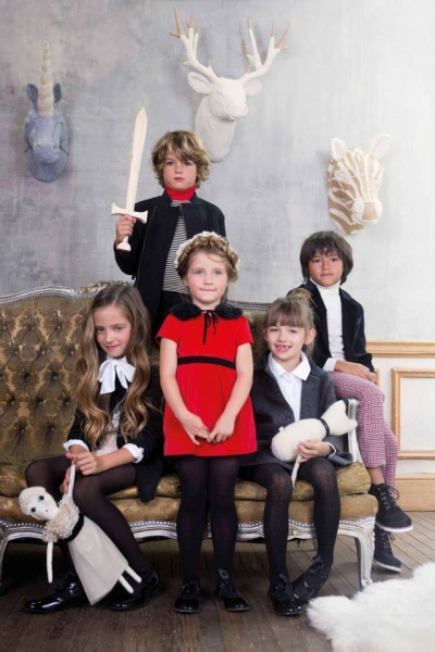 Paula Cahen D Anvers Niños coleccion invierno 2014