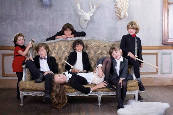 Paula Cahen D'Anvers Niños ropa infantil invierno 2014
