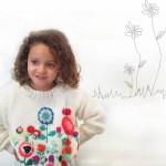 Sweater tejidos bordado nena invierno 2014 Madastore
