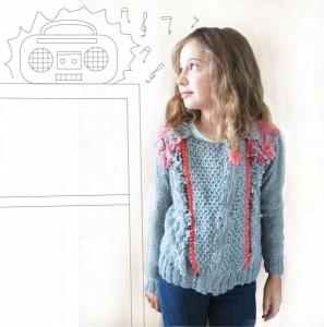 Sweater tejidos nena invierno 2014 Madastore