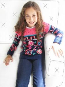 Sweater tejidos niña invierno 2014 Madastore