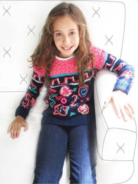 Sweater tejidos niña invierno 2014 - Madastore