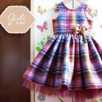 Vestido para nenas escoces Girlsboutique Diseños invierno 2014