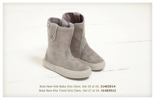 botas grises nena  invierno 2014 mimo co