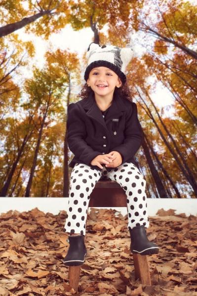 calza a lunares nena Ce Pe invierno 2014