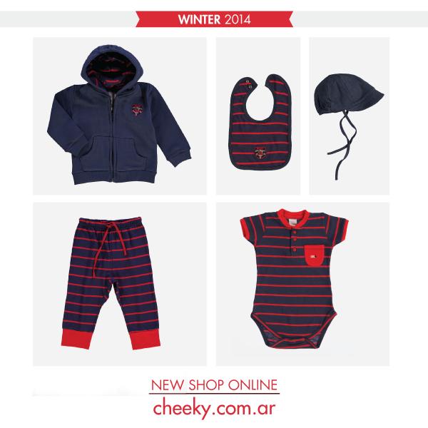 cheeky bebe otoño invierno 2014 conjuntos