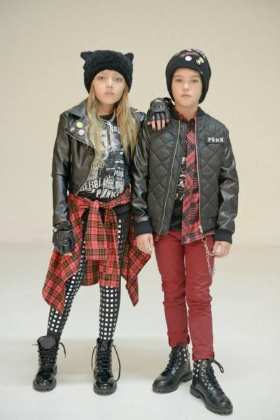 escoces  Ona Saez Kids otoño invierno 2014