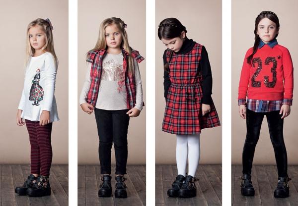 look escoces para nenas by Nucleo invierno 2014