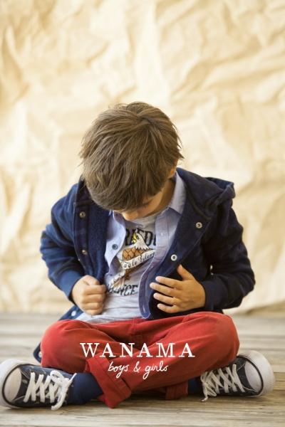 moda infantil varon otoño invierno 2014 Wanama Boys Girls