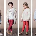 pantalones de color Nucelo nenas invierno 2014