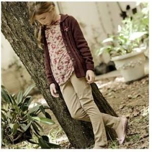 saco tejido y pantalon nena Anavana invierno 2014