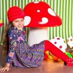 vestido con calza nena Zuppa chicos invierno 2014