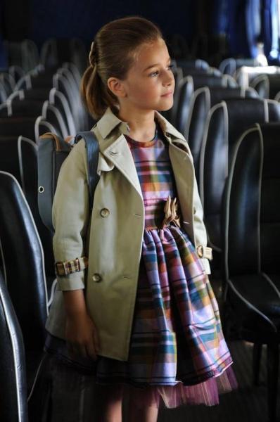 vestido escoces Girlsboutique Diseños invierno 2014 revista Luz