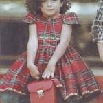 vestido escoces para nena invierno 2014 by Girlsboutique Diseños revista luz