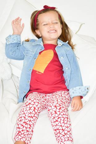 camisa de jeans nena Payasin invierno 2014
