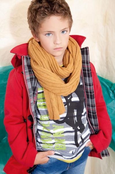 campera forrada escoces niño invierno 2014 B Way