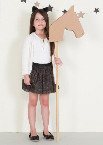 falda para fiesta nenas otoño invierno 2014 By Pioppa