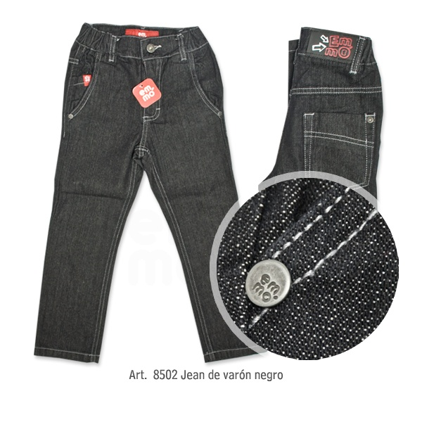 jeans negro  varon Emmo invierno 2014