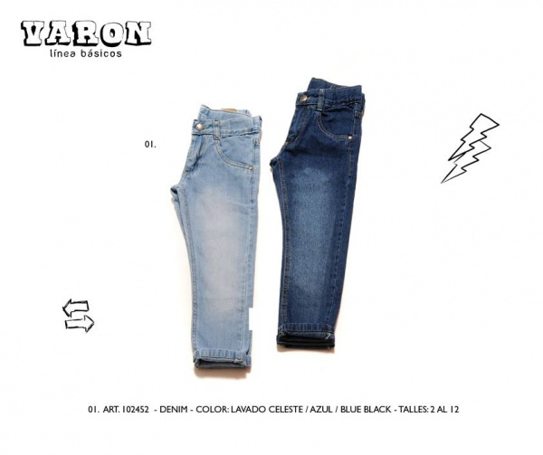 jeans varon infantil Advanced invierno 2014