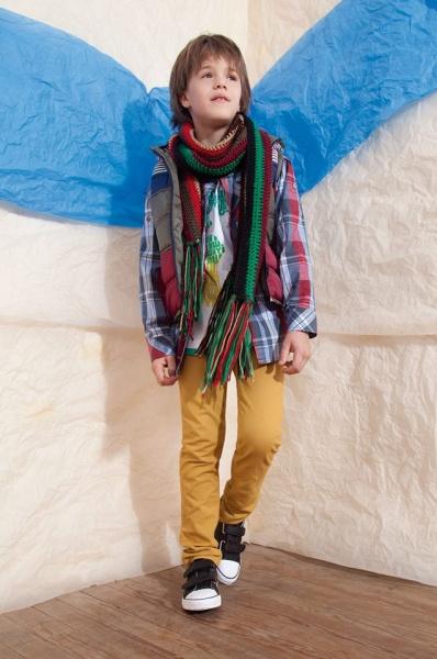 pantalones de colores niños invierno 2014 B Way