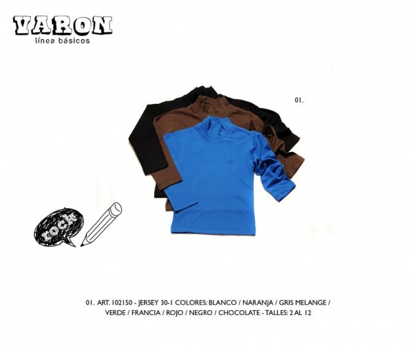 polera varon infantil Advanced invierno 2014