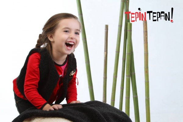 remera mangas largas y chaleco nena invierno 2014 Tepin Tepan