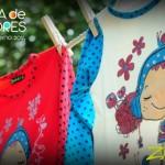 remeras con estampas y lunares niñas invierno 2014