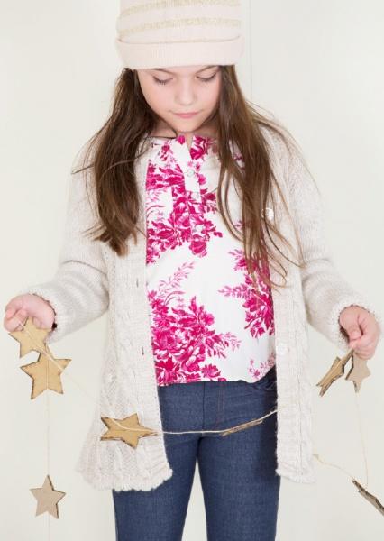 saco tejido nenas otoño invierno 2014 By Pioppa