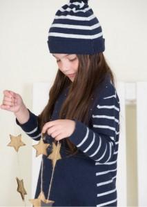sweater tejido nenas otoño invierno 2014 By Pioppa