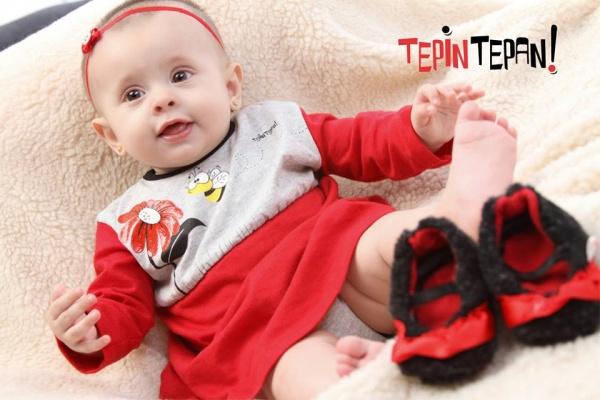 vestido beba invierno 2014 Tepin Tepan
