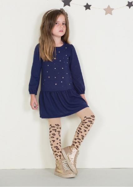 vestido mangas largas nenas otoño invierno 2014 By Pioppa