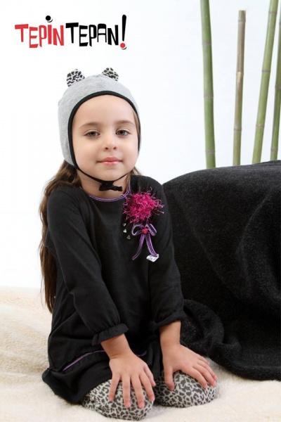 vestido mangas largas niña invierno 2014 Tepin Tepan