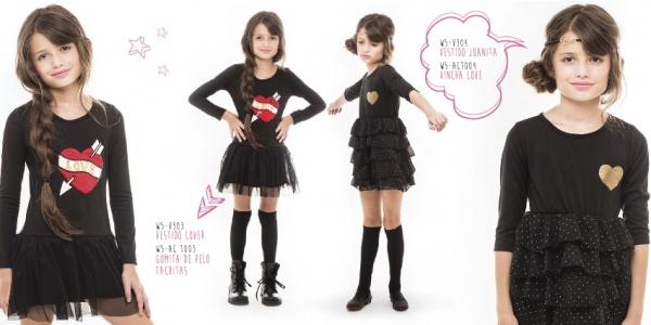 vestido niñas queen juana invierno 2014