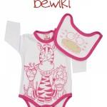 Body mangas largas beba estampa animal Bewiki invierno 2014