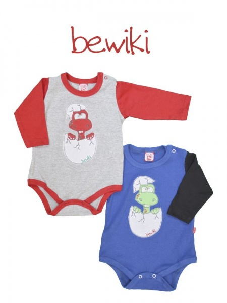 Body mangas largas bebe Bewiki invierno 2014