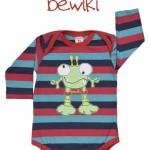 Body mangas largas bebe a rayas Bewiki invierno 2014