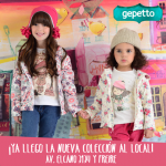 Moda infantil para niñas invierno 2014 Gepetto