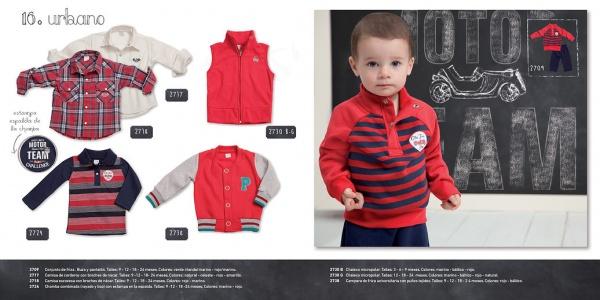 look rojos para nenes Pilim invierno 2014