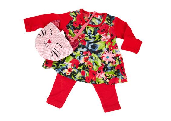 vestido estampado bebes Gulubu invierno 2014