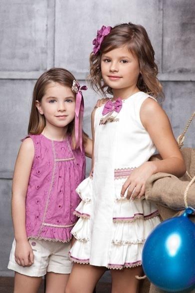 purpura tendencia moda infantil primavera verano 2015