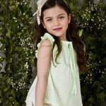 verde menta tendencia moda infantil primavera verano 2015