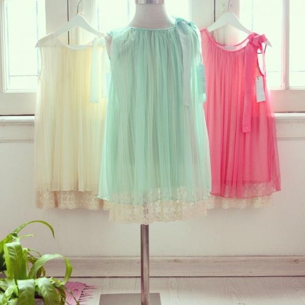GRO vestido de gasa para niñas verano 2015