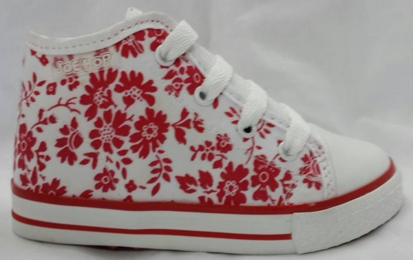 botitas de lonas para niñas Joe Hopi calzado infantil 2015