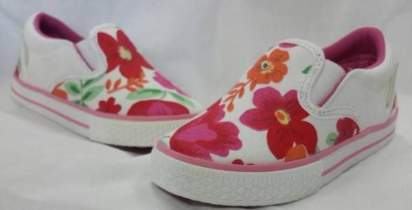panchas estampado floral nenas Joe Hopi calzado infantil 2015