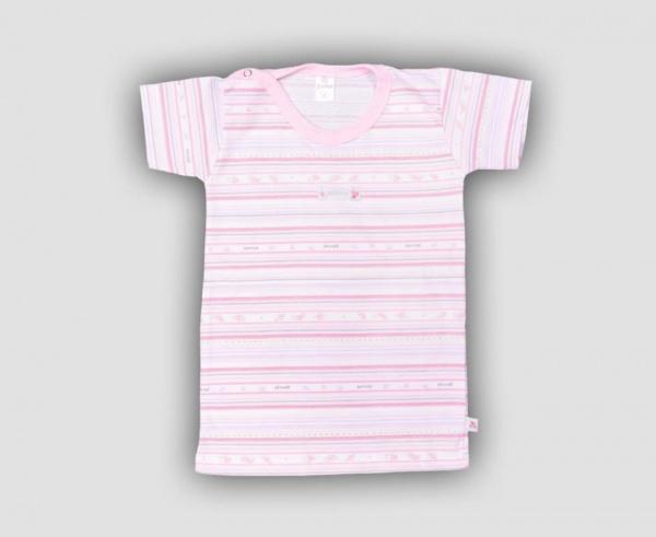 remera blanca y rosa bebe nena primavera verano 2015