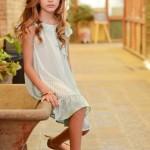 vestido a lunares para niñas Anavana verano 2015