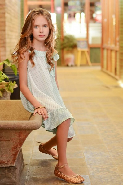 vestido a lunares para niñas - Anavana verano 2015